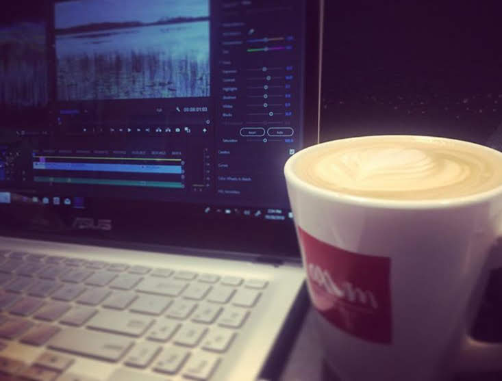 Coffee and Editing